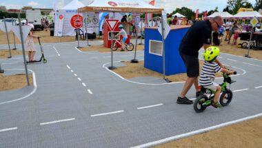 25. 7. 2020 (Praha – Letná) – Mobilní dětské dopravní hřiště